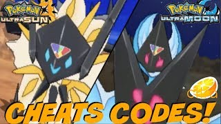 Pokemon ultra sun rom citra cheat codes download free