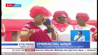 Women leaders under the Embrace Kenya Umbrella tour Wajir to preach peace