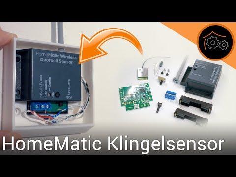 Jede Türklingel smart machen - HomeMatic Klingelsensor   haus-automatisierung.com [4K]