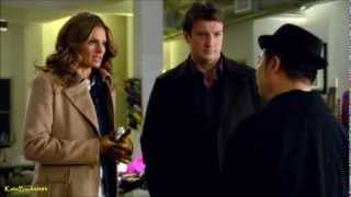 "Castle 6x14 ""Dressed To Kill"" Castle & Beckett talks with Yumi (HD)"