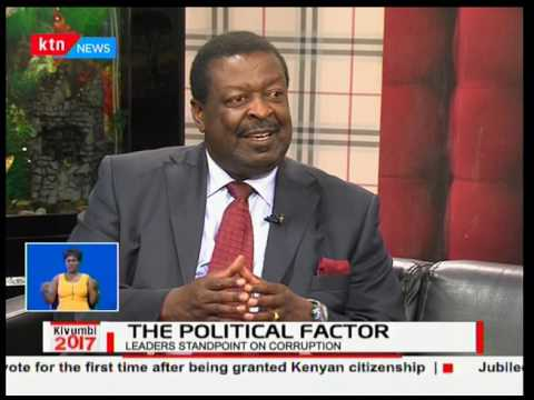Musalia Mudavadi explains the basis of  NASA 10 million votes