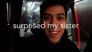 SURPRISED MY SISTER FOR CHRISTMAS!!! (VLOG 7) | LuisYoutube