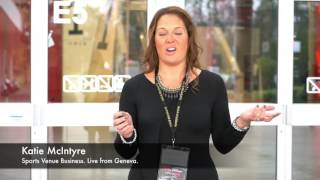 Sports Venue Business Founder & CEO Katie McIntyre reports 'live' from ISC 2016