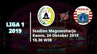 VIDEO: Live Streaming Liga 1 2019 PSS Sleman Vs Persija Jakarta Kamis (24/10) Pukul 18.30 WIB