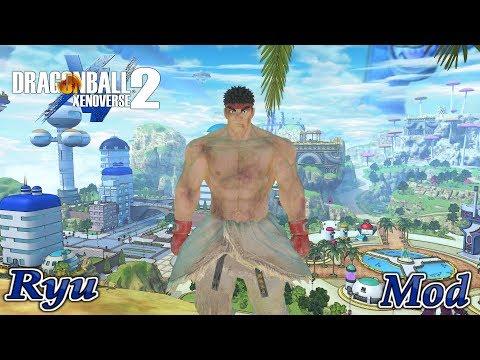 Dragon Ball Xenoverse 2 MvsCI Ryu Premium Costume Mod (4K)