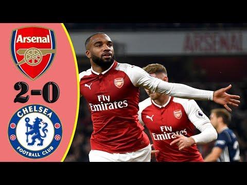 Arsenal vs Chelsea 2-0 - Highlights RÉSUMÉ & Goles  (Last Matches) HD