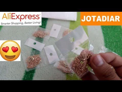 Unboxing - Collares o colgantes baratos de AliExpress