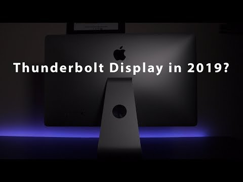 Why I use a 2011 Thunderbolt Display in 2019!