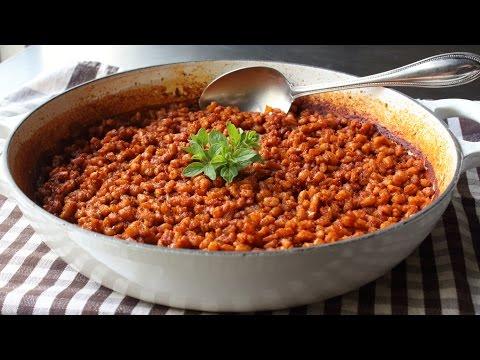 Spanish Farro Recipe - How to Make Spanish Rice with Farro