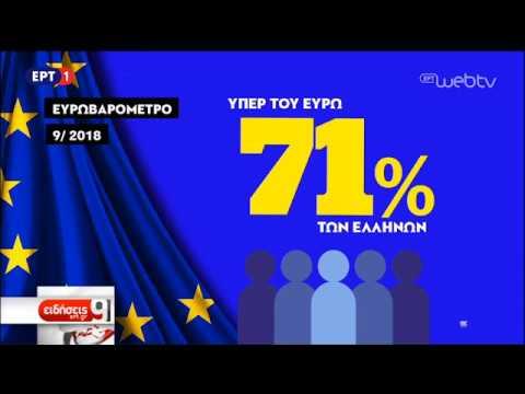 Ευρωβαρόμετρο: Το 45% των Ελλήνων αποτιμά θετικά τη συμμετοχή στην ΕΕ