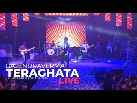 GAJENDRA VERMA | TERA GHATA LIVE | ORIANA 2K18 | AIIMS RAIPUR