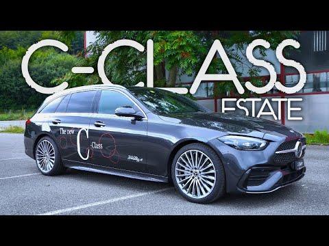 New Mercedes C-Class Estate AMG Line 2022