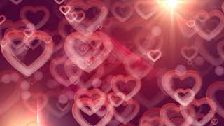 love motion background | Hearts motion graphic background | heart background video | love background