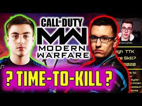 Does a FAST Time-to-Kill Take MORE Skill?    Call of Duty Skill Gap Discussion    CoD: MW