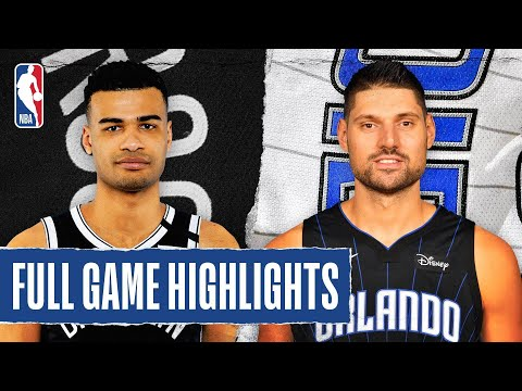 NETS at MAGIC | FULL GAME HIGHLIGHTS | August 11, 2020