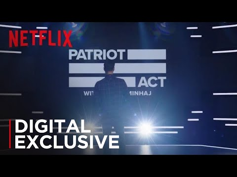 Video trailer för Patriot Act with Hasan Minhaj   Studio Spot [HD]   Netflix