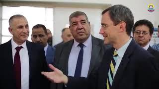 بالفيديو جانب من زيارة القائم بأعمال السفارة الاميركية في بغداد والوفد المرافق له الى الجامعة التقنية الشمالية