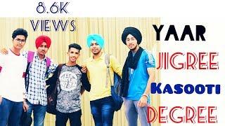 Yaar Jigree Kasooti Degree -   Sharry Maan  THT Productions   Punjabi Latest songs 2018 .