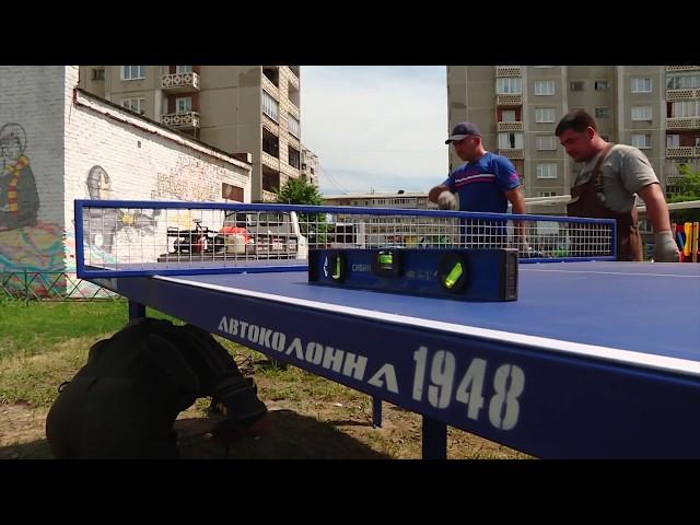 Игра в пинг-понг от мала до велика