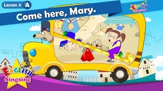 Bài học 8_ (A) Đến đây, Mary. - Cartoon Câu chuyện