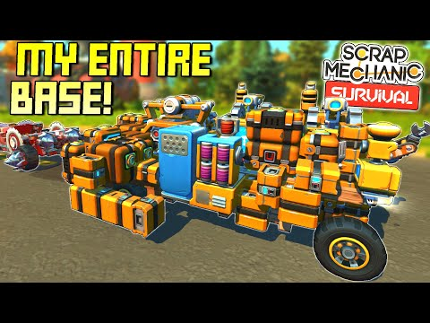 Packing My ENTIRE BASE Onto ONE VEHICLE and Moving Locations! - SM Survival Mode [SMS 24]
