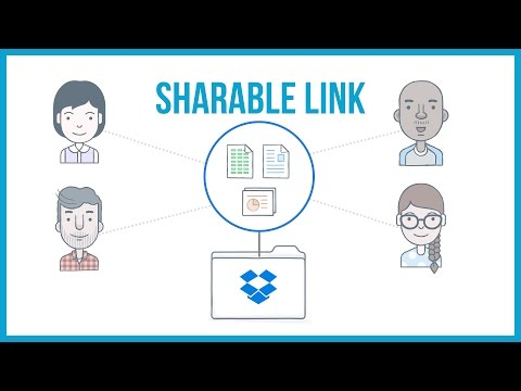 How To Create A Shareable Link In Dropbox - Dropbox Tutorial