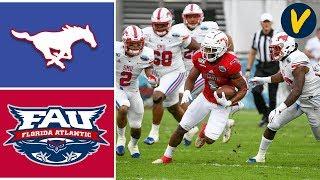 SMU Vs Florida Atlantic Highlights   2019 Boca Raton Bowl   College Football