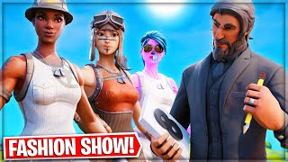*DRIP or DROWN* Fortnite Fashion Show w/ TXNS! Skin Competition!   BEST DRIP, COMBO & EMOTES WINS!