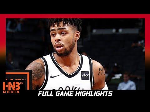 Brooklyn Nets vs Portland Trail Blazers Full Game Highlights / Week 4 / 2017 NBA Season