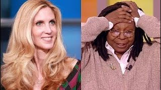 Ann Coulter Takes Race-Baiting Whoopi oldberg Go Tchool Snew]