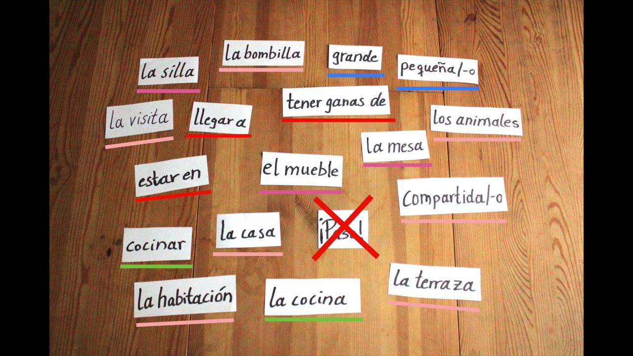 Erklärvideo Spanisch von Raste: Las redes de palabras/die Speicherstrategie der Wörternetze