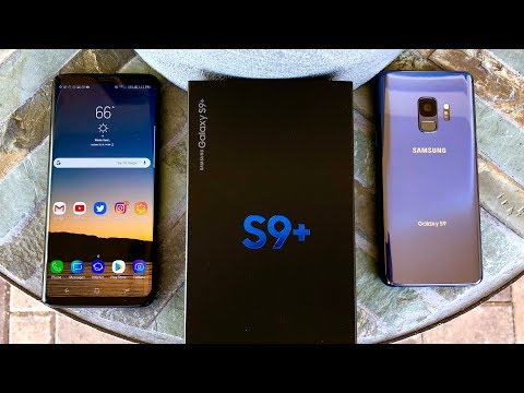 Samsung Galaxy S9 and S9+ Unboxing and Camera Test Samples!