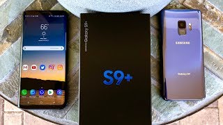 Samsung Galaxy S9 and Samsung Galaxy S9+ Unboxing and Camera Test Samples!