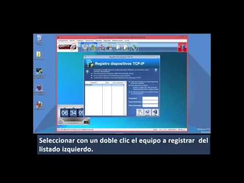 Tutorial - On The Minute® 4.5 - Enlace terminal TCP/IP, NS FACE,  NS FACE RW