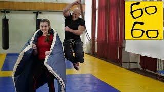 Самый буйный и веселый каратист! Мат, трэш, страсть — дикая тренировка карате с Николаем Алексеевым
