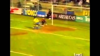 Las Palmas 0 - Albacete 1. Temp. 90/91. Jor 26
