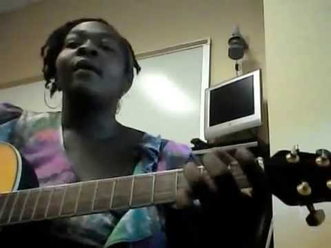 """Me singing Travis Greene's newest song, """"Intentional"""" and strummin on the ol geetar. :-)"""