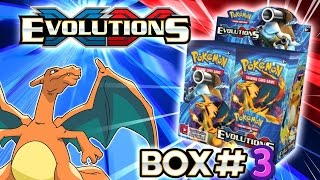Turbo Opening: XY Evolutions booster box #3 - All 36 packs! Pokemon TCG unboxing