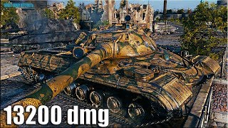 Объект 277 рекорд по урону в World of Tanks