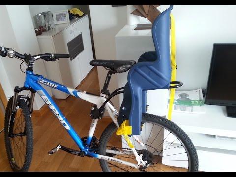 Montaje Soporte Silla bebe bicicleta (Baby Chair Bike Mounting)