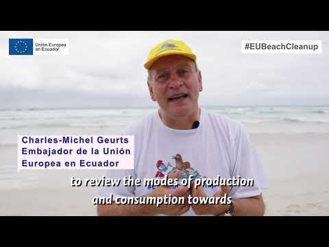 #EUBeachCleanup 2021 | Ecuador - Galápagos