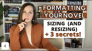 CHOOSING THE SIZE OF YOUR BOOK (& how to RESIZE it) | Formatting a novel in WORD (Formatting part 4)