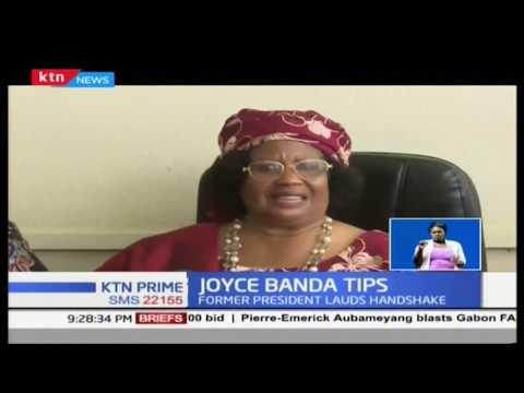 Former Malawi President Banda lauds Uhuru, Raila for 'historic' handshake