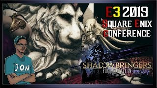 Final fantasy XIV: Shadowbringers E3 Titania Challenge (Fail attempt