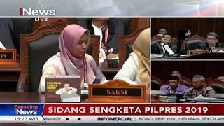 Nur Latifah, Saksi Tim BPN Berbelit-belit Berikan Kesaksian Kecurangan Pemilu - Breaking iNews 19/06