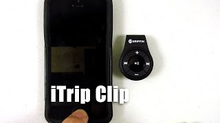 Wireless headphone adapter for iPhone 7 and others, Griffin iTrip Clip Bluetooth