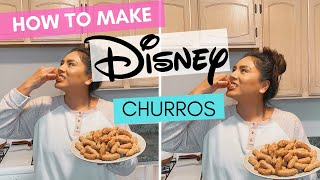 I Made DISNEYLAND CHURROS At Home!/ Churro Tots From Disney Parks/ Walt Disney World
