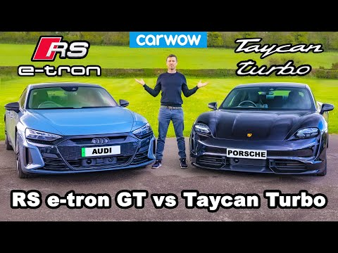 Audi RS e-tron GT v Porsche Taycan Turbo - which is best?