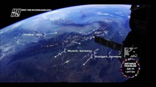 Europe from Space Station - Fly Over Major Cities in Stunning HD
