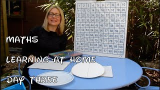 Day 3 MATHS - Reception: Learning From Home